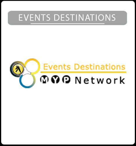 Events Destinations Website